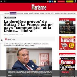 """La dernière provoc' de Gattaz ? La France est un pays """"communiste"""" et la Chine… """"libéral"""""""