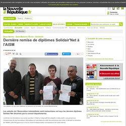 Dernière remise de diplômes Solidair'Net à l'AISM - 27/04/2016