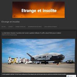 Mission mystère de 600 jours de l'avion X-37B