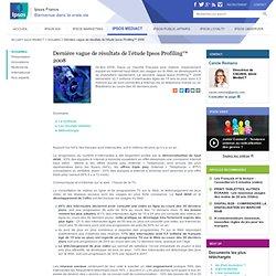 Dernière vague de résultats de l'étude Ipsos Profiling™ 2008