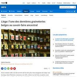 Liège: l'une des dernières graineteries belges au savoir-faire ancestral