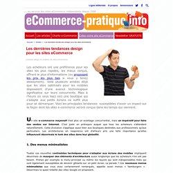 Les dernières tendances design pour les sites eCommerce