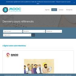 Liste des MOOC en français