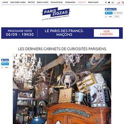 Les derniers cabinets de curiosités parisiens