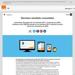 Derniers résultats consolidés - orange.com