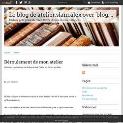 Déroulement de mon atelier - Le blog de atelier.slam.alex.over-blog.com