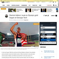 Derrick Adkins' route to Olympic gold began at Georgia Tech