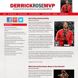 Derrick Rose | MVP | Derrick Rose for the NBA's MVP Award