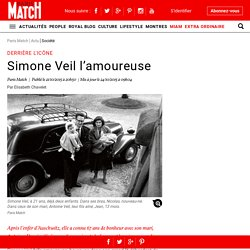 Derrière l'icône - Simone Veil l'amoureuse
