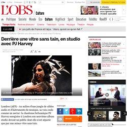 Derrière une vitre sans tain, en studio avec PJ Harvey - L'Obs