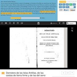 Derrotero de las Islas Antillas, de las costas de tierra firme y de las del seno mexicano : Spain Dirección de Hidrografía, Spain