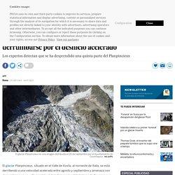 25-09-2019 Un glaciar en el Mont Blanc corre el riesgo de derrumbarse por el deshielo acelerado