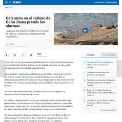 Derrumbe en Doña Juana - Bogotá