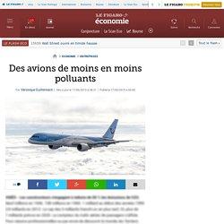 Des avions de moins en moins polluants