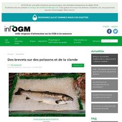 Des brevets sur des poissons et de la viande
