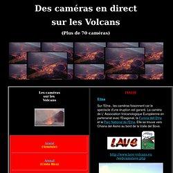 Des caméras sur les volcans