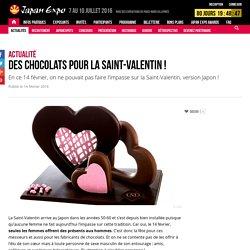 Des chocolats pour la Saint-Valentin !