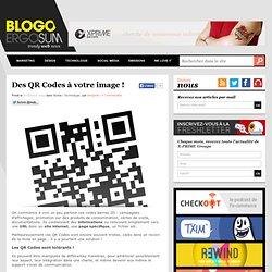Des QR Codes à votre image !