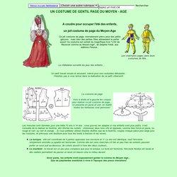 Des costumes du Moyen-Age