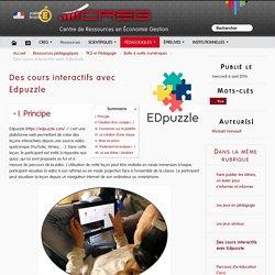 Des cours interactifs avec Edpuzzle