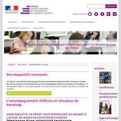 CNESCO : Des dispositifs innovants à l'Ecole ...