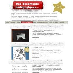Documents pédagogiques