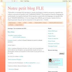 Notre petit blog FLE: Des films