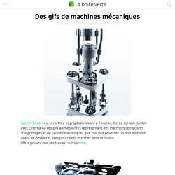 Des gifs de machines mécaniques