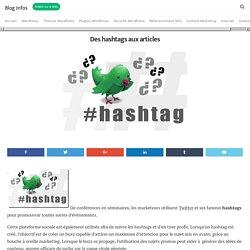 Des hashtags aux articles