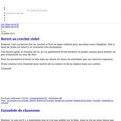Des idées sur le fil - Page 4 - Des idées sur le fil