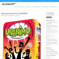 Des jeux pour le FLE: UNANIMO