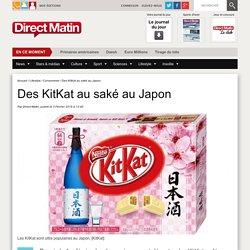 Des KitKat au saké au Japon