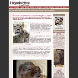 Des lionceaux gelés depuis au moins 10 000 ans