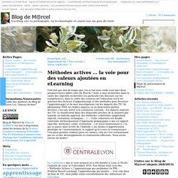 Des méthodes actives pour l'e-Learning