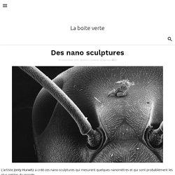 Des nano sculptures