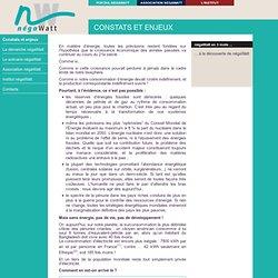 Le B.A BA des négaWatt - Constats et enjeux