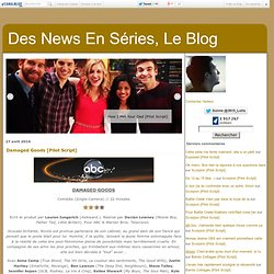 Des News En Séries, Le Blog