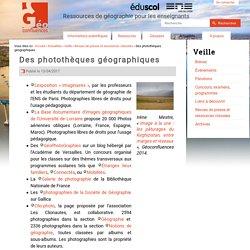 Des photothèques géographiques