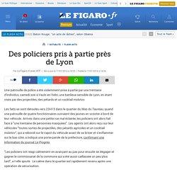 Des policiers pris à partie près de Lyon