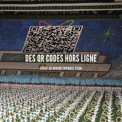 Des QR Codes hors ligne