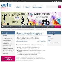 Ressources pour les DYS sur le site de l'AEFE