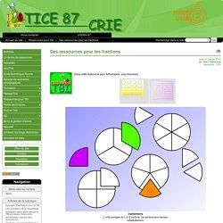 Des ressources pour les fractions