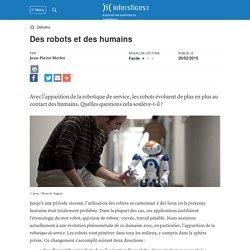 Des robots et des humains