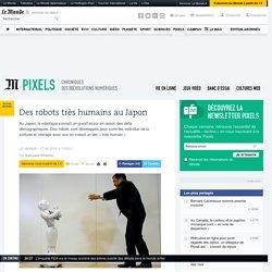 Des robots très humains au Japon