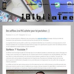 Des Softbox à ne PAS acheter pour toi youtubeur ;-)