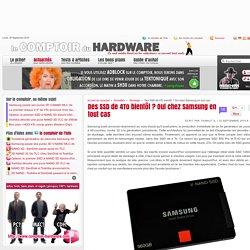 Des SSD de 4To bientôt ? Oui chez Samsung en tout cas