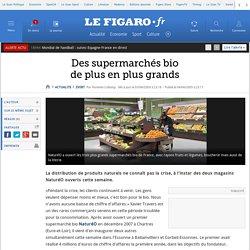 Des supermarchés biode plus en plus grands