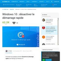 desactiver-demarrage-rapide-fast-startup-windows-10