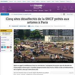 Cinq sites désaffectés de la SNCF prêtés aux artistes à Paris