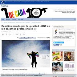 Desafíos para lograr la igualdad LGBT en los entornos profesionales (I)